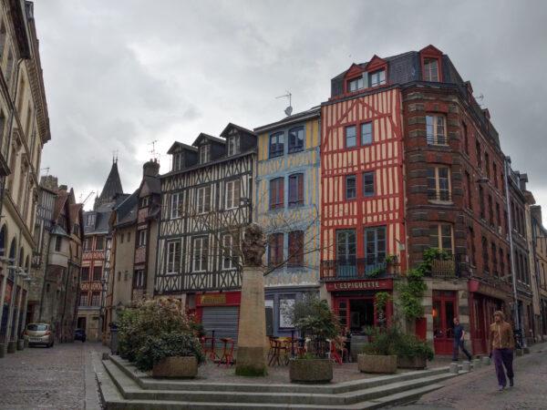 Франция. Руан, Кан иДюсе