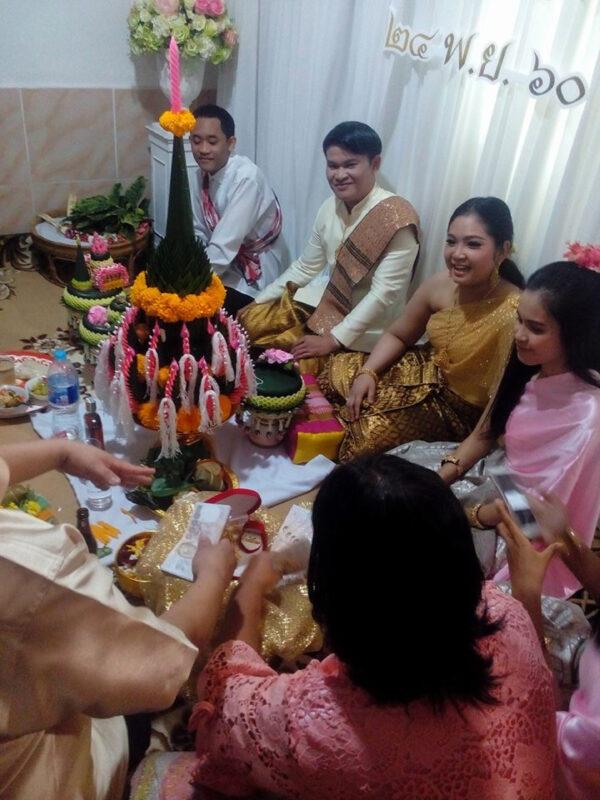 Настоящая тайская свадьба !