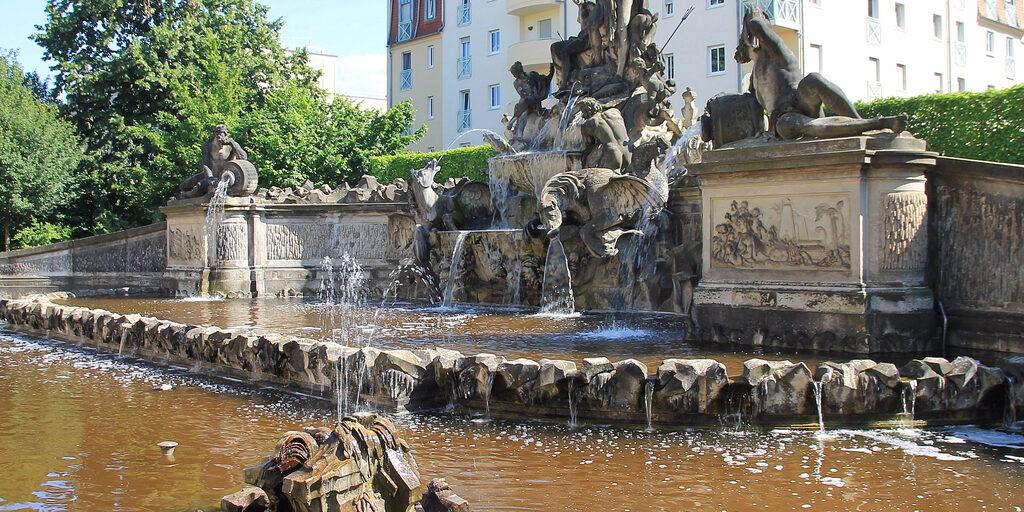 Дрезденские фонтаны-1