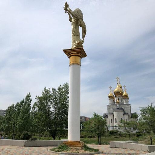 Спасо-Преображенский кафедральный собор в Абакане (Хакасия)