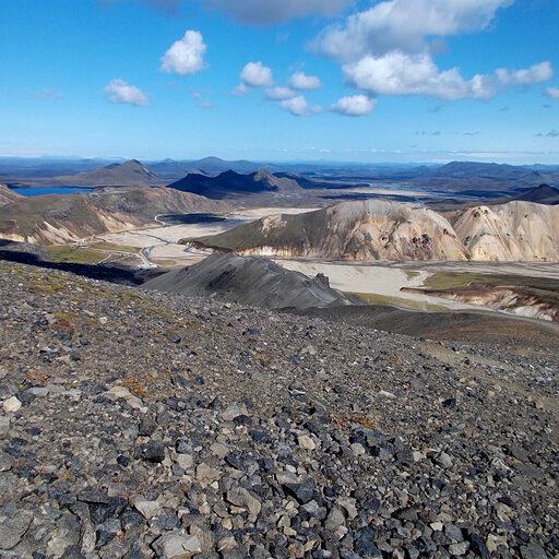 Марсианские лошадки, Исландия — долина Ландманналаугар