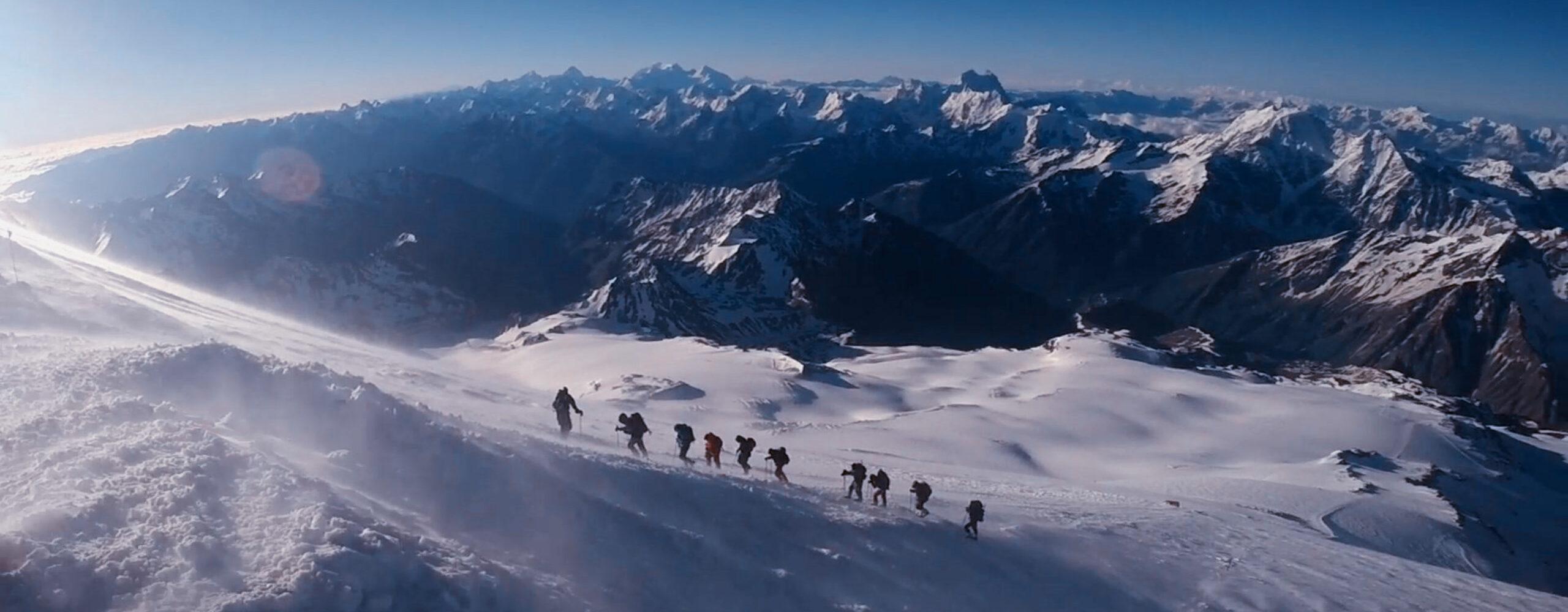 Штурм западной вершины Эльбруса.
