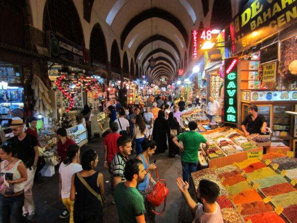 Гранд базар, Египетский базар имечеть Сулеймание.