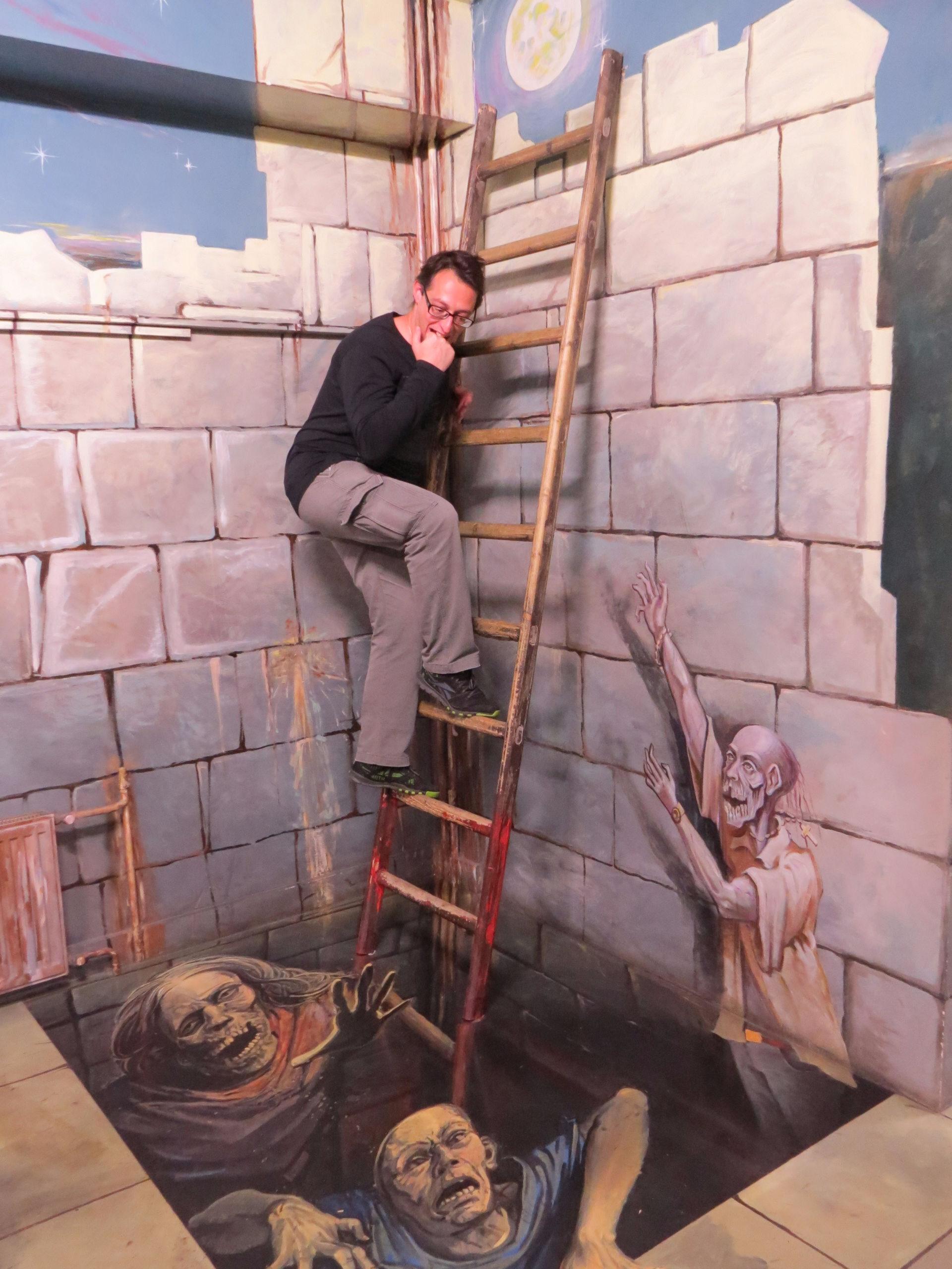 Музей иллюзий идругие развлекушки наСтаром Арбате