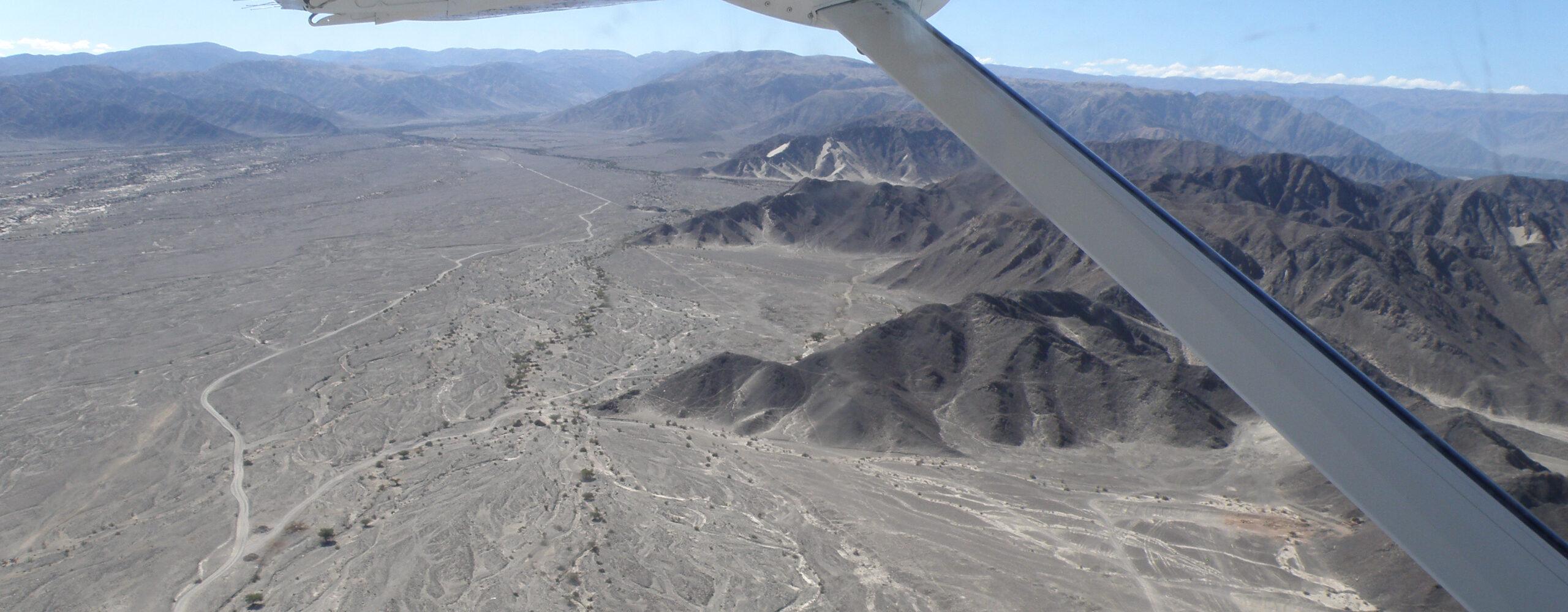 Перу. Полёт над линиями Наска.