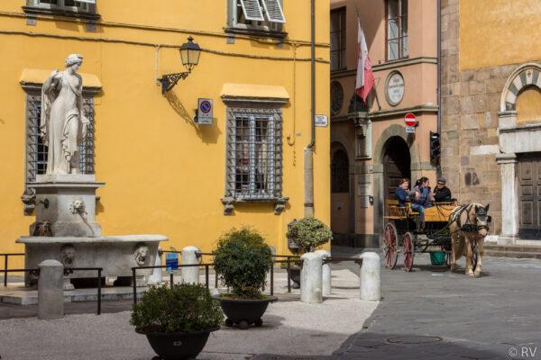 Поездка поИталии намашине изПизы доБергамо (апрель 2018)