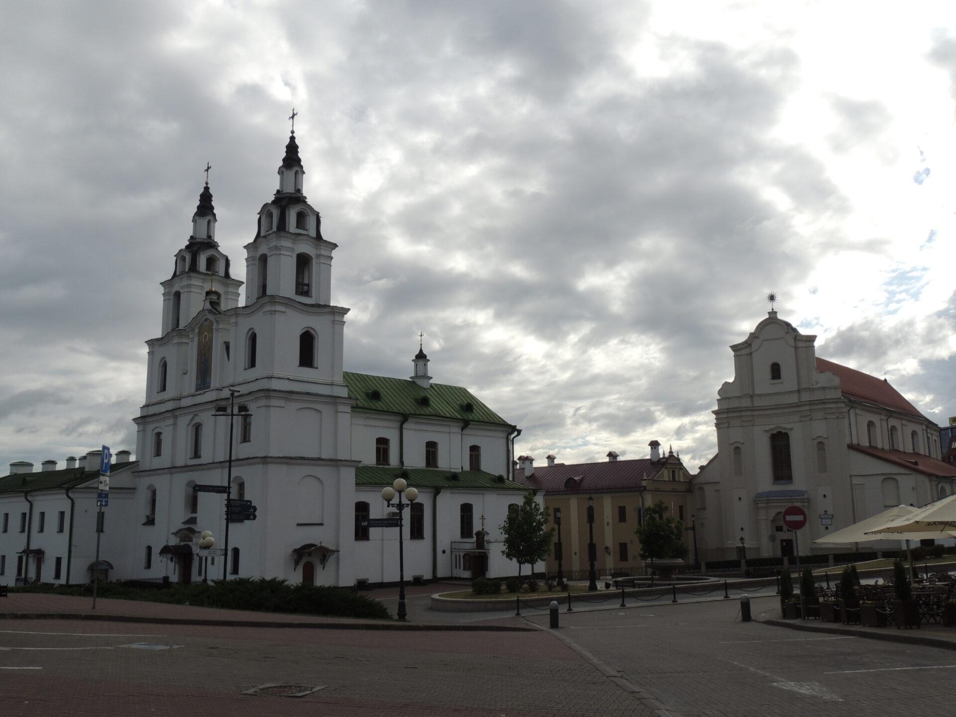 Изсолнечной Сибири вдождливую Беларусь. Часть 1: Минск