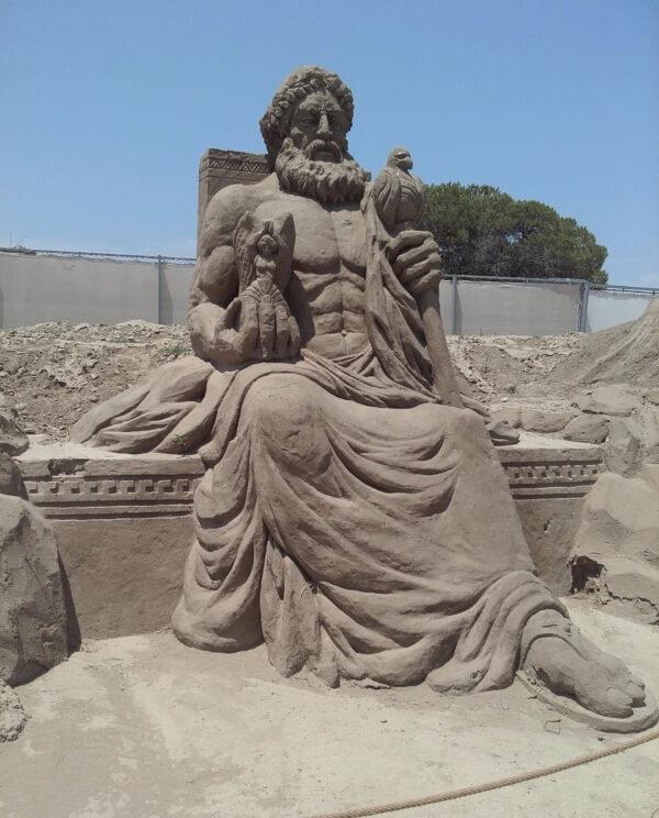 Sandland. Парк песчаных фигур.Анталия.