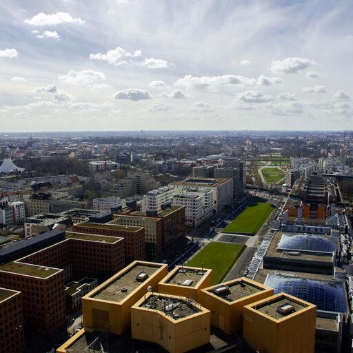 Смотровая площадка PANORAMAPUNKT на Potsdamer Platz