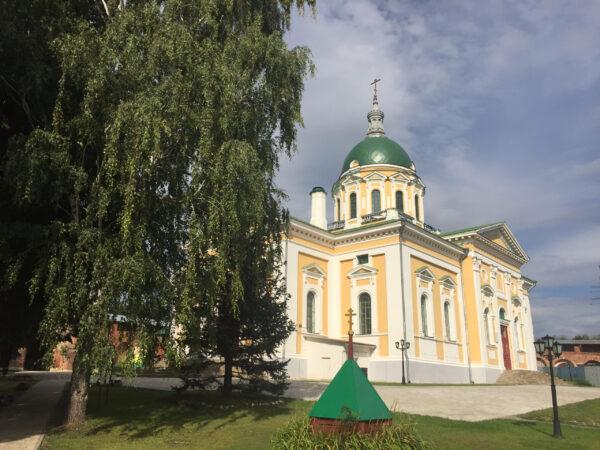 Зарайский кремль… Подмосковье…