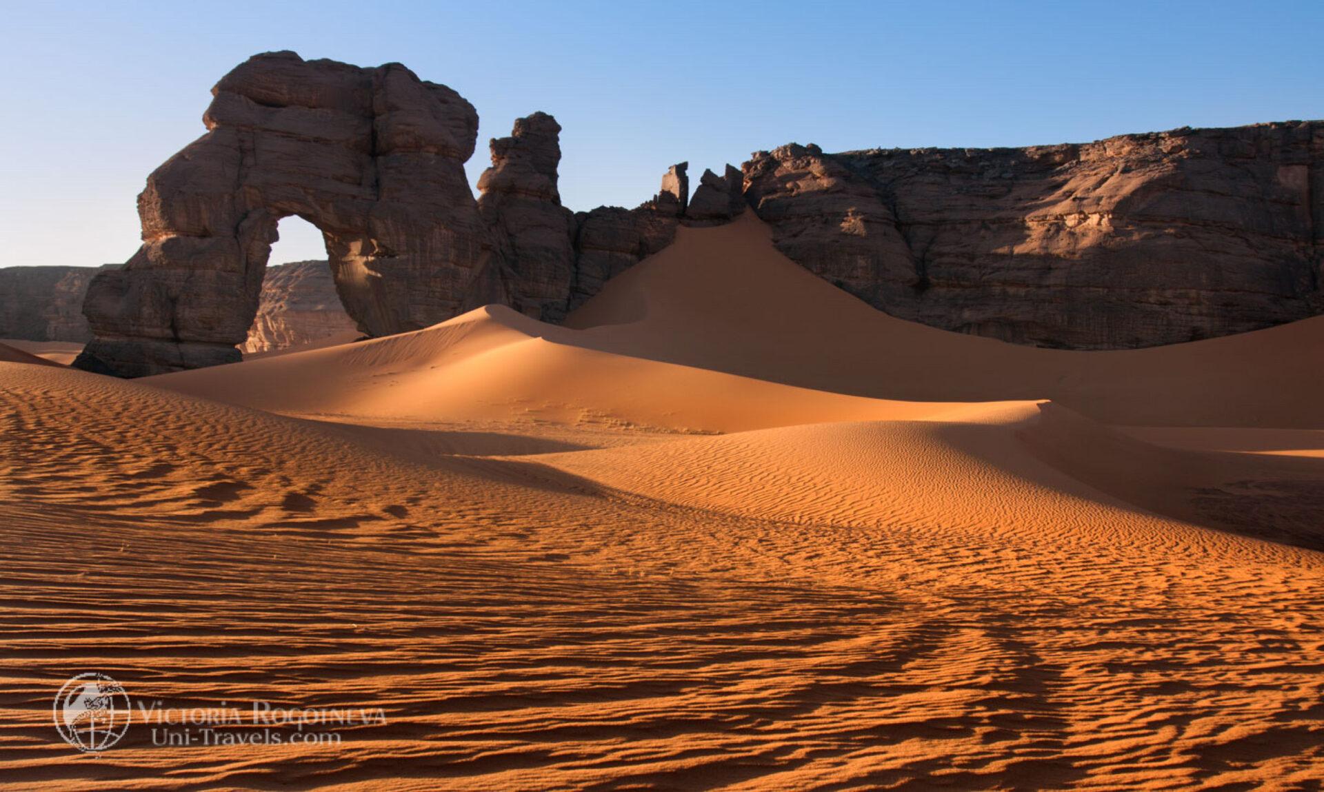 Ливийская Сахара (2011 год)