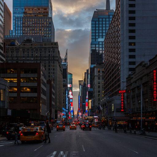 Рождественский Нью-Йорк. Первые впечатления…