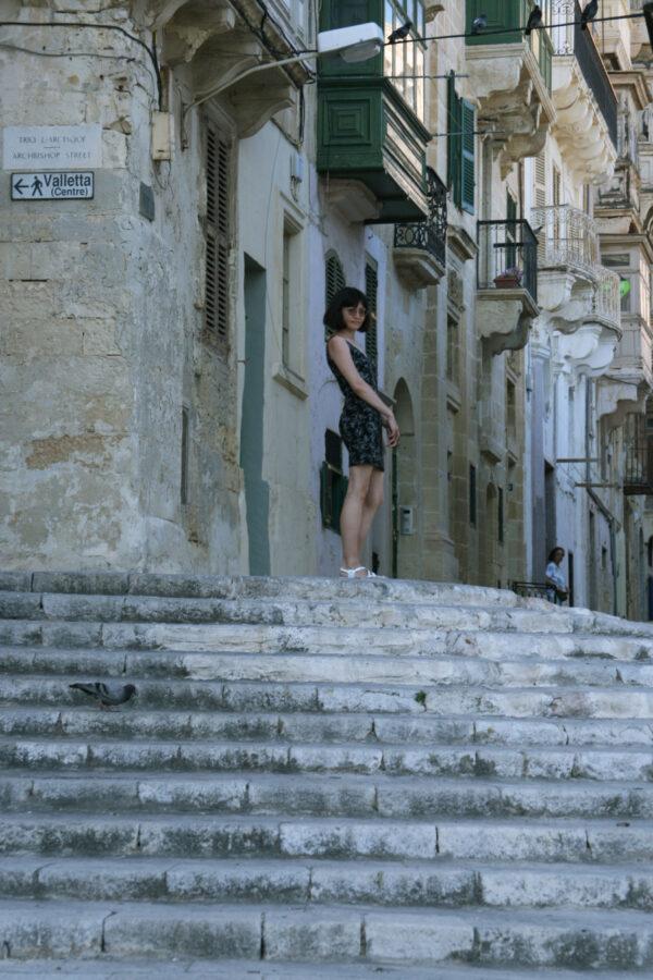 Malta, Valletta, Mellieha bay