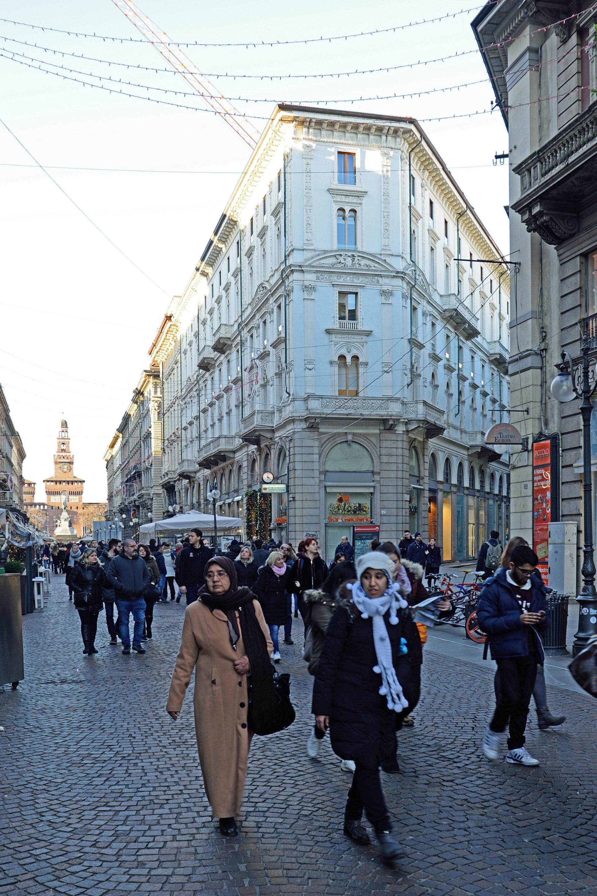 Центр Милана.