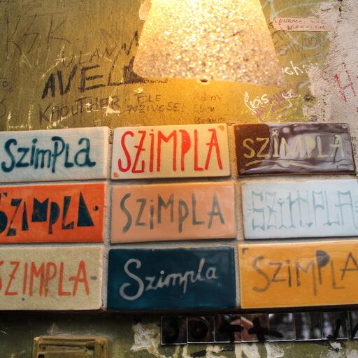 How to get drunk in Budapest — Szimpla Kert — Будапешт питейный