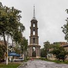 Николаевская колокольня инемного дождливого Венева