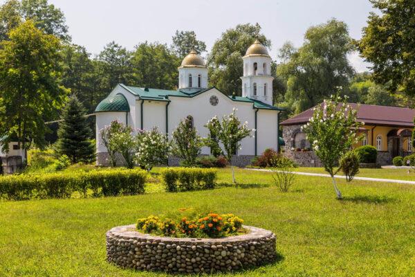 Северная Осетия-Алания. Аланский Богоявленский женский монастырь