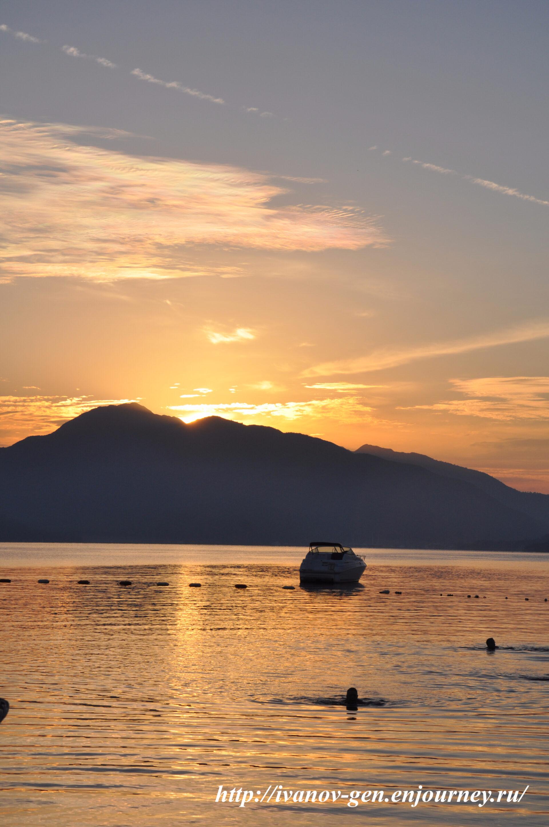 Восход солнца вМармарисе