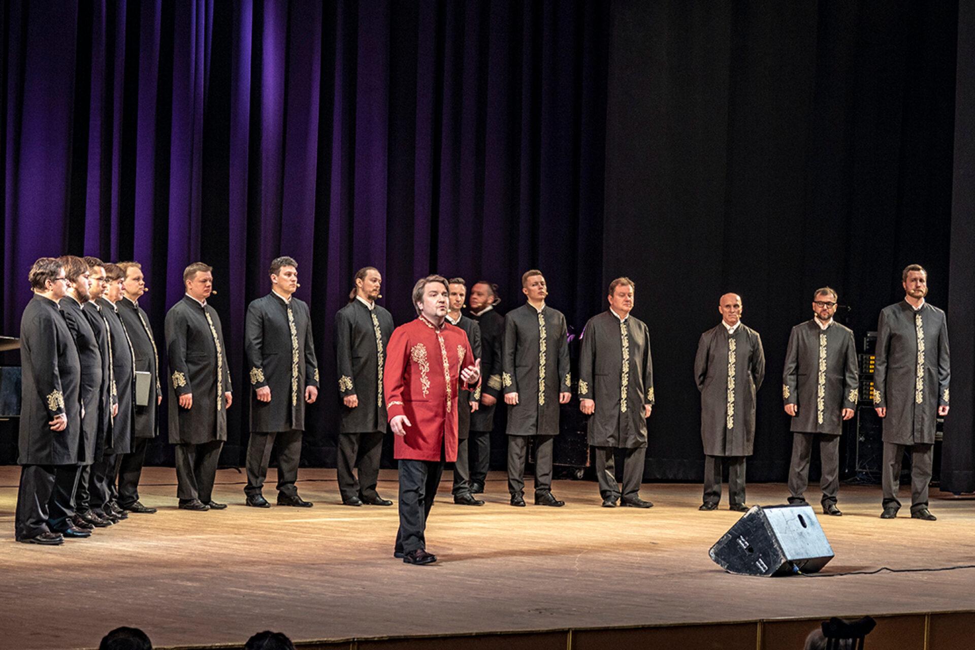 Хор острова Валаам (концерт вХраме накрови вЕкатеринбурге).