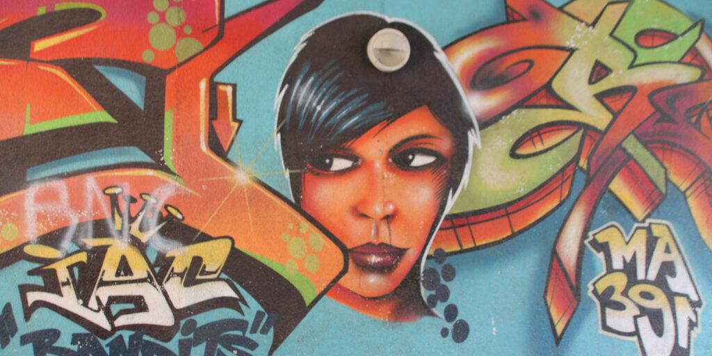 Дрезденские граффити или прогулка по Нойштадту.