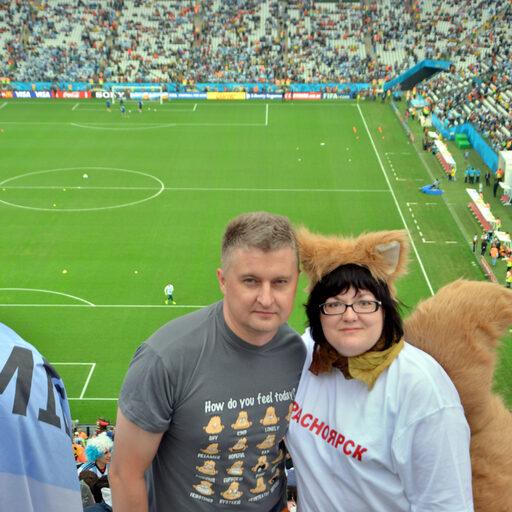 Как красноярцы футбол смотрели. ОколоЧМ-2014-е бразильские страсти.