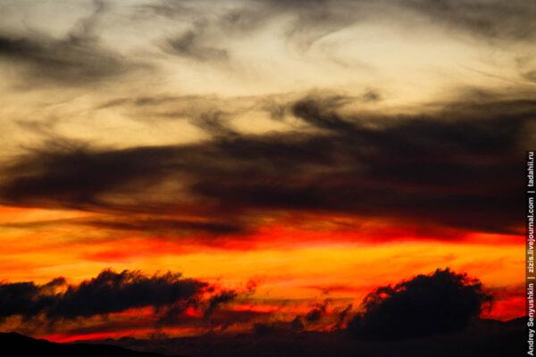 Красный дракон заката